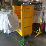 Tallboy Linen Exchange Trolley