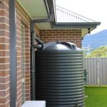 2500L Round Water Tank