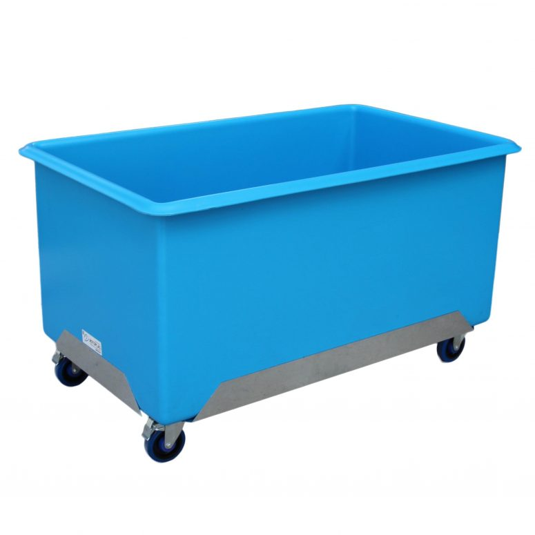 650 litre tub trolleys rotoplas materials handling for Tub materials