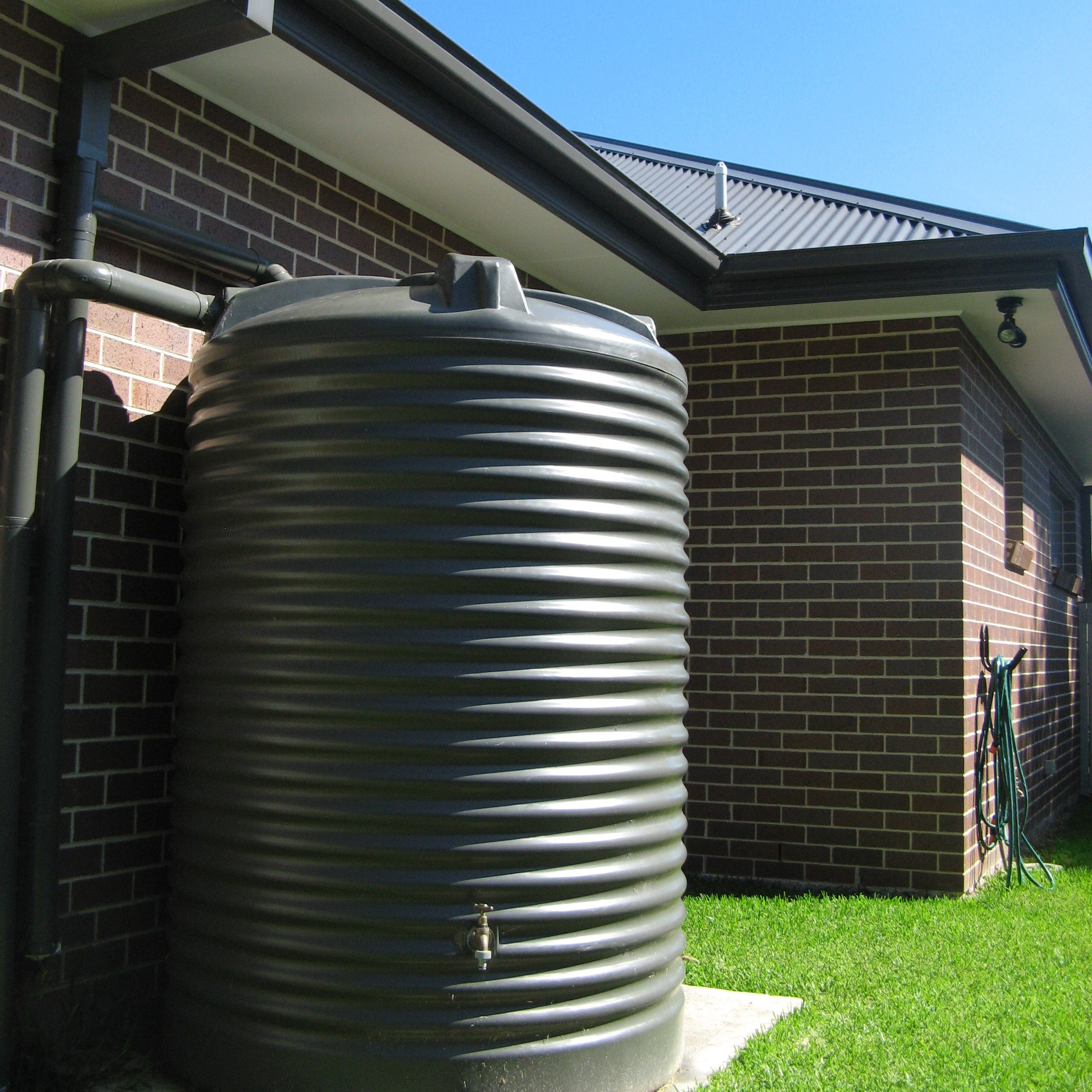 Rainwater tank design ideas get inspired by photos of rainwater - What Size Rainwater Tank Do I Need Industry Insight