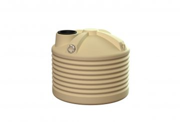 1000L Round Water Tank Squat