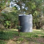 5000L Round Water Tank