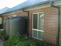 2500 litre Round Water Tanks Woodland Grey