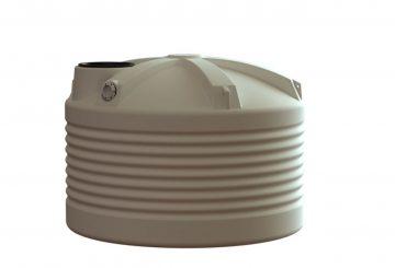 2500L Round Water Tank Squat