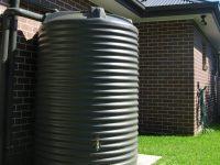 RWT2500 2500L Round Water Tank Corrugated
