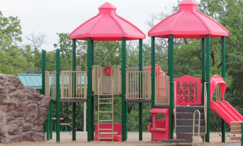 Rotationally Moulded Playground Equipment