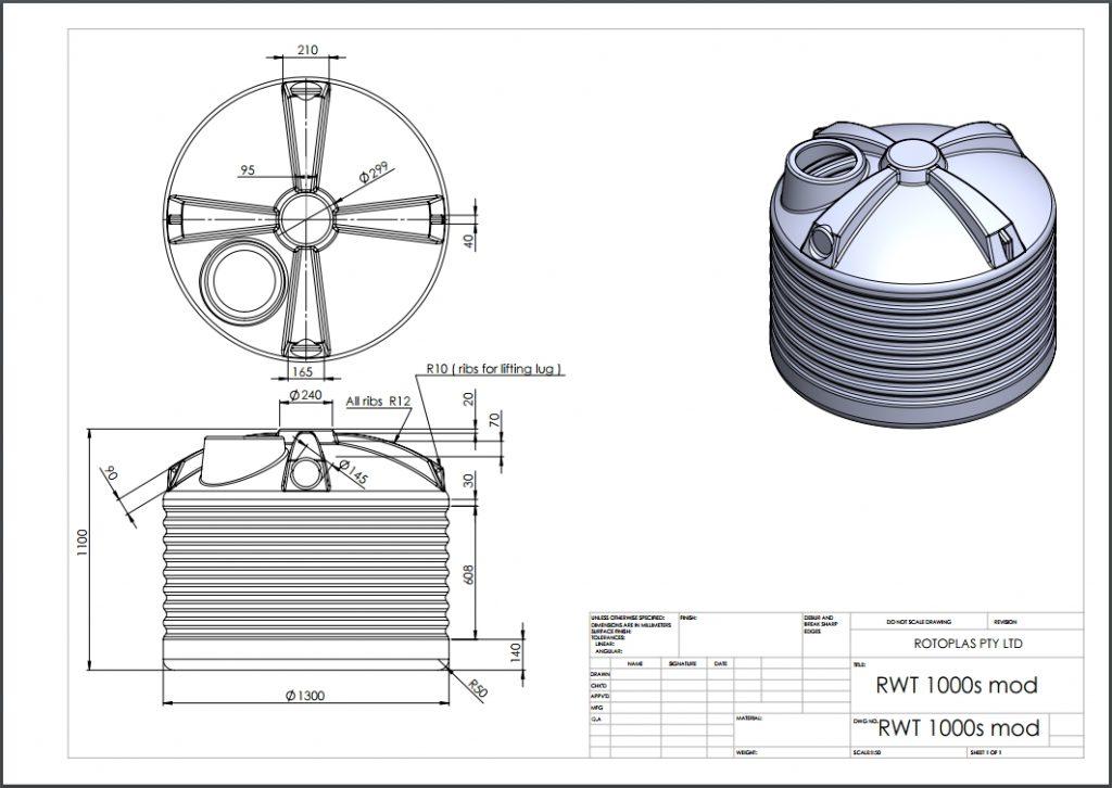 RWT1000S Spec Sheet