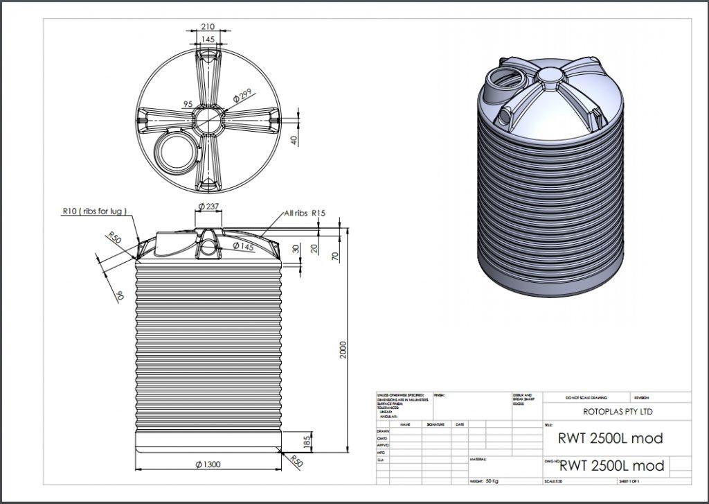 RWT2500 Spec Sheet