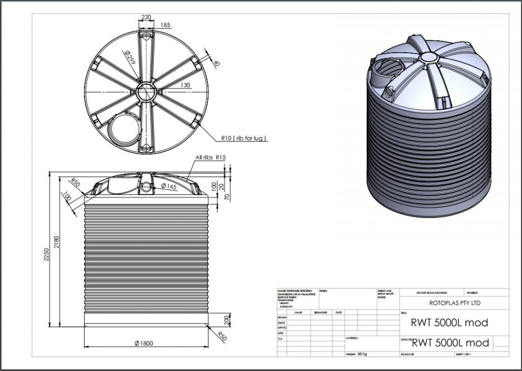 RWT5000 Spec Sheet