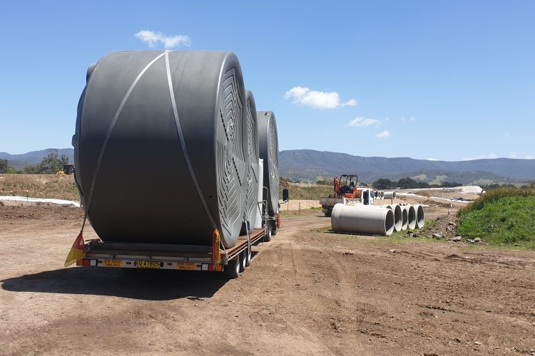 Rotoplas Rural Water Tank Delivery