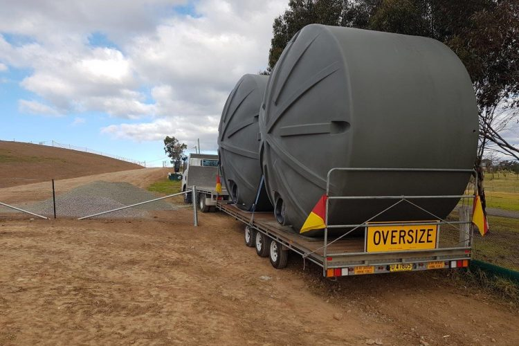 22700L Rural Water Tank Delivery